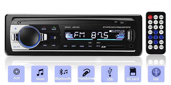 Autoradio Andven con Bluetooth y manos libres