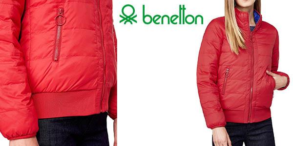 Benetton plumífero reversible barato