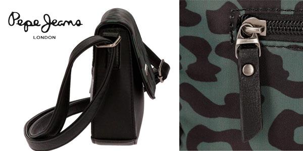 Bolso bandolera Pepe Jeans Morgana con animal print barato Amazon
