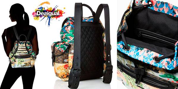 Bolso mochila Desigual Explorer Victoria para mujer en oferta