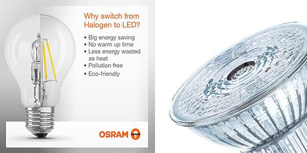 bombillas Osram LED GU10 chollo