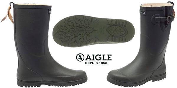 Botas infantiles de lluvia Aigle Woodypop unisex baratas