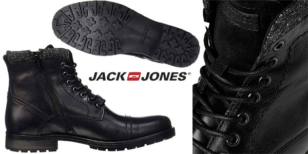 Botas Jack & Jones Jfwmarly de piel para hombre baratas