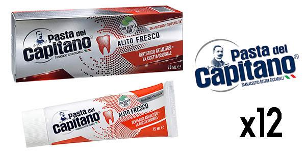 botes de crema dental Pasta del Capitano oferta