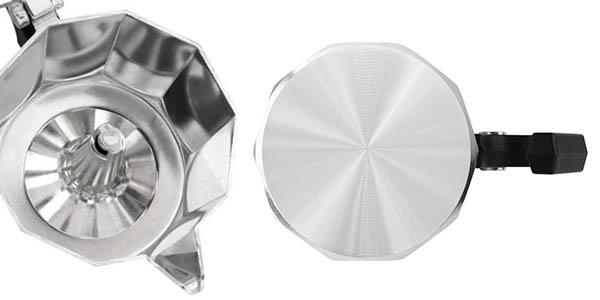 cafetera de 6 tazas italiana Taurus para cocinas de inducción relación calidad-precio genial