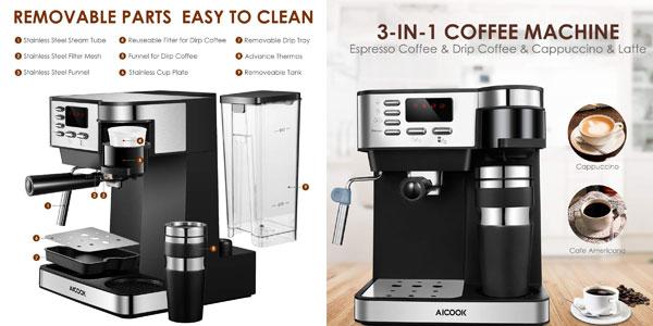 Cafetera Multifuncion Aicook 3 en 1 chollo en Amazon