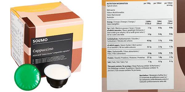 cápsulas de café para máquinas Dolce Gusto Amazon Solima con relación calidad-precio