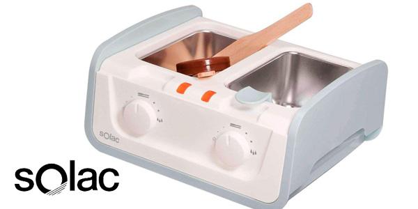Centro de depilación de cera caliente Solac DC 7500 barato en Amazon