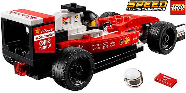 Chollo Coche Ferrari SF16-H de Fórmula 1 de LEGO Speed Champions
