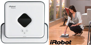 Friegasuelos inteligente iRobot Braava 390T al mejor precio