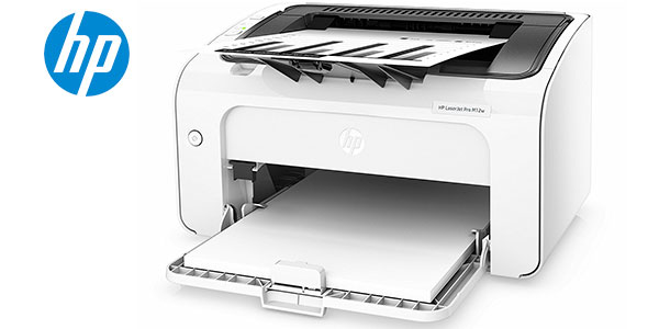 Chollo Impresora láser HP Laserjet Pro M12w con Wi-fi y USB