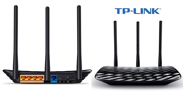 Chollo Router TP-Link AC900 Archer C2 Gigabit de doble banda con señal omnidireccional