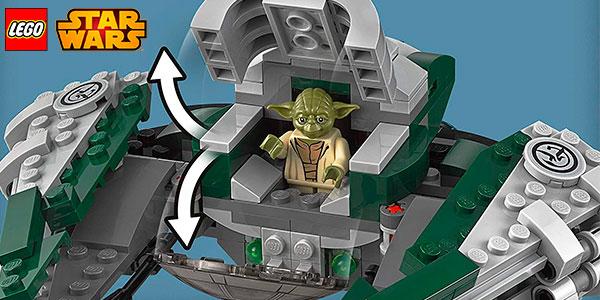 Chollo Nave Starfighter Jedi de Yoda (LEGO Star Wars)