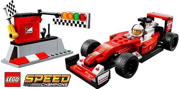 Coche Ferrari SF16-H de Fórmula 1 de LEGO Speed Champions barato