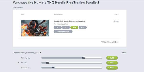 Comprar Humble Thq Nordic PS4 Bundle