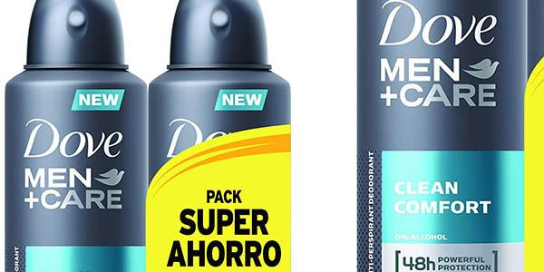 Dove Men Care Confort Clean Desodorante 200 ml chollo