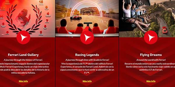escapada a PortAventura y Ferrari Land con alojamiento económico