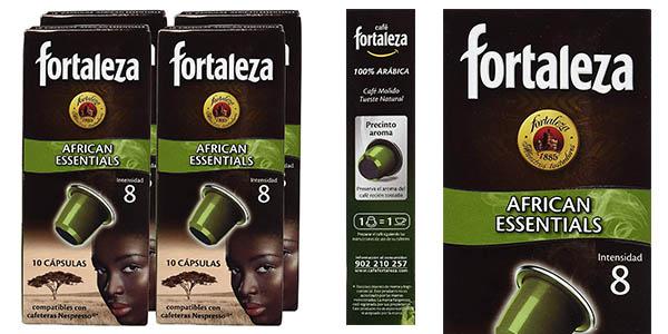 Fortaleza African Essentials cápsulas de café baratas