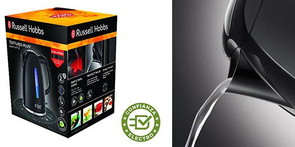 hervidor de agua Russell Hobbs Textures Plus barato