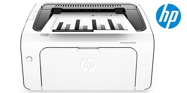 Impresora láser HP Laserjet Pro M12w con Wi-fi y USB barata