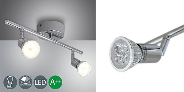 lámpara de techo Vingo GU10 focos LED barata