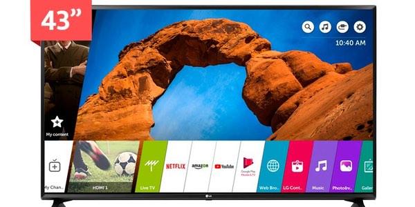 Smart TV LG 43UK6200 barata