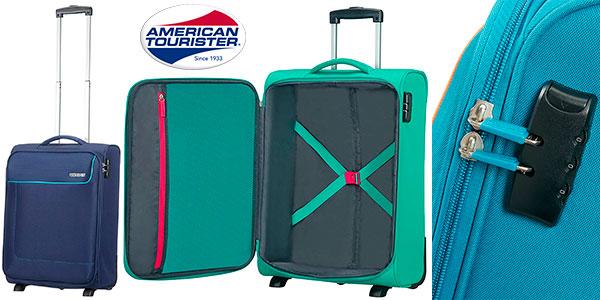 Maleta de 2 ruedas American Tourister Upright de 39 litros en varios modelos barata