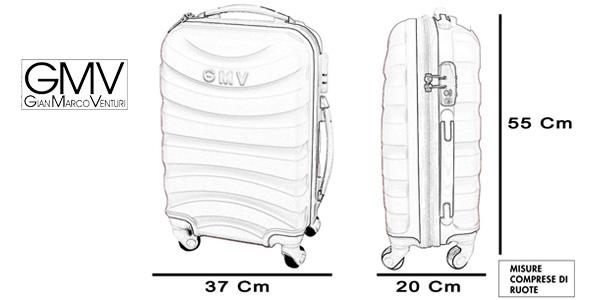 Trolley rígido GianMarco Venturi tamaño cabina chollazo en Amazon