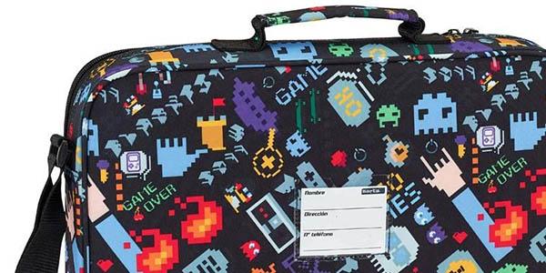 maletín para ordenador portátil de diseño original Safta Blackfit8 chollo
