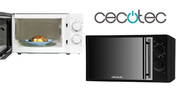 Microondas Cecotec 700W con frontal de espejo, 20 L, 6 niveles potencia barato en eBay