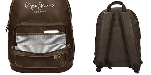 mochila Pepe Jeans Duetone para ordenador portátil chollo eBay