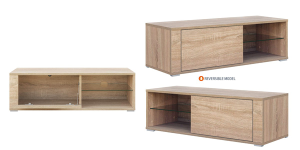 Mueble para TV Comifort TV80B disponible en blanco, roble o combinado chollazo en Amazon