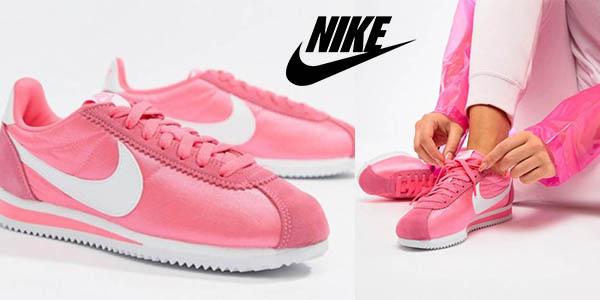 Nike Cortez zapatillas rosas baratas
