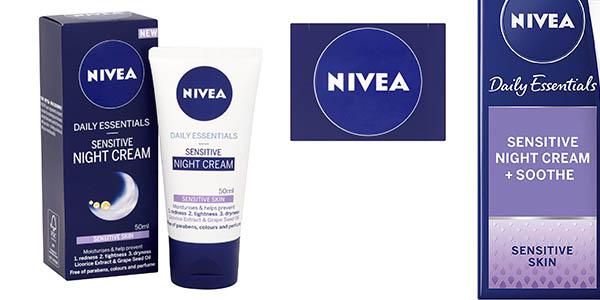 Nivea Daily Essentials crema de noche barata