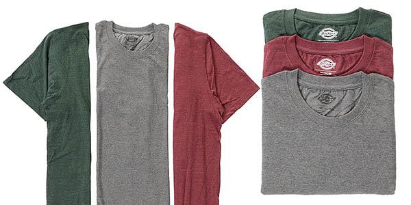 pack 3 camisetas Dickies Hastings en oferta
