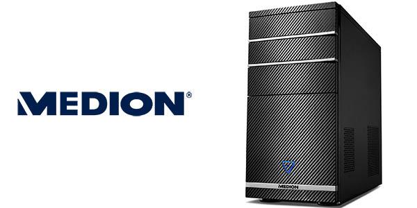 PC Medion Akoya P66024 (i7-8700, 1TB + 128GB SSD, GTX 1050Ti)