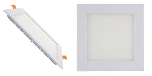 Placa LED Downlight Cuadrada SuperSlim 18W barata en Amazon