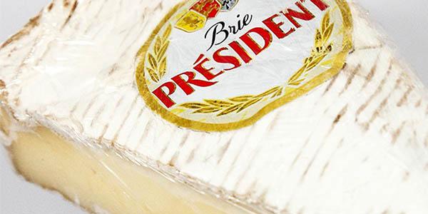 Président Brie queso cremoso graso oferta