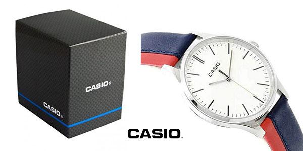 Reloj analógico Casio MTP-E133L en varios colores chollo en Amazon