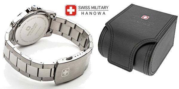 Reloj analógico Swiss Military Hanowa Swiss Soldier Chrono Prime en acero inoxidable para hombre chollo en Amazon