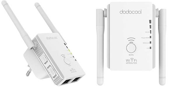 Repetidor de red WiFi dodocool N300 2.4 GHz