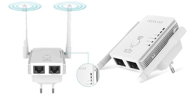 Repetidor de red WiFi dodocool barato