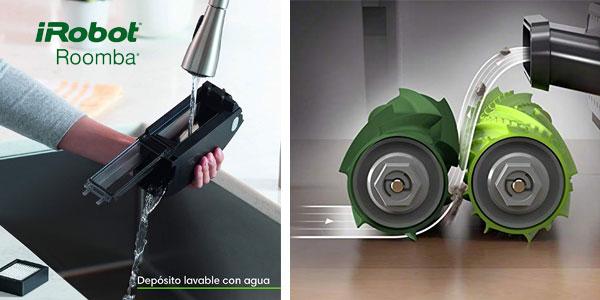 Robot aspirador Roomba e5154 optimizado para pelo de mascotas con WiFi y App oferta en Amazon