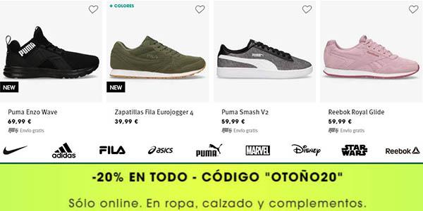 ropa, zapatillas y complementos de primeras marcas de deporte Sprinter ofertas