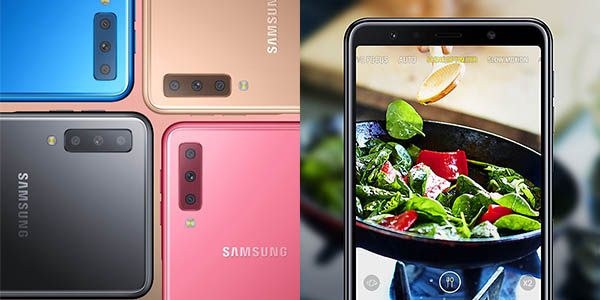 Samsung Galaxy A7 (2018) en eBay