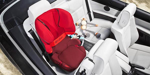silla Cybex Silver con Isofix y protección de impactos laterales para niñ@s de 3 a 12 años oferta