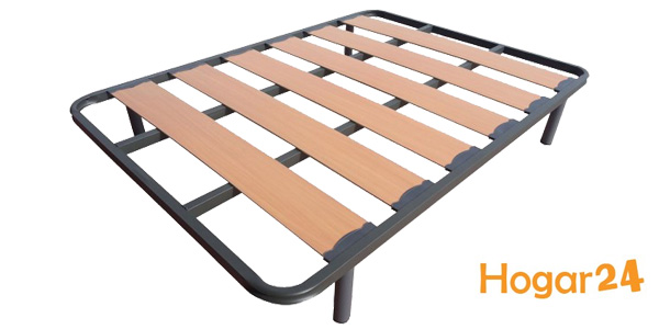 Somier HOGAR24 Lama Ancha Reforzada para cama 90 barato en Amazon
