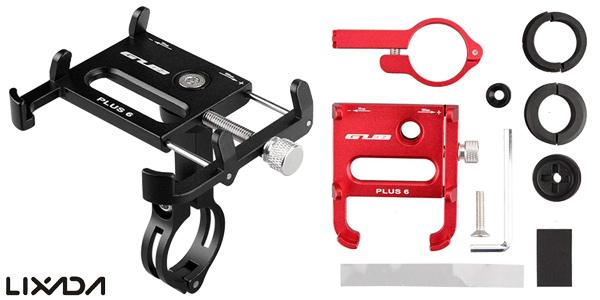 """Soporte de bicicleta Lixada GUB 6 profesional para smarthones de hasta 6,2"""" en varios colores chollo en Amazon"""