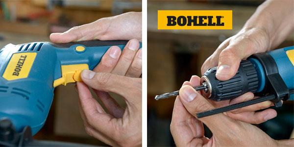 Taladro percutor Bohell TP710REA de 710W y velocidad regulable chollo en Amazon