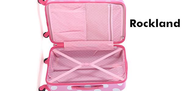 Maleta de mano Rockland Pink Dot F2081 chollazo en Amazon